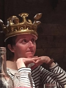 Queen of the mountain Tina
